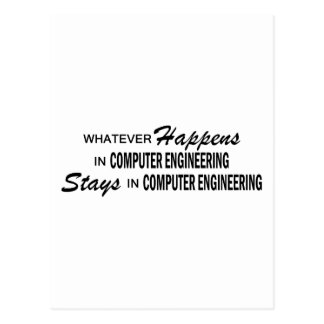 Whatever Happens - Computer Engineering Postcard