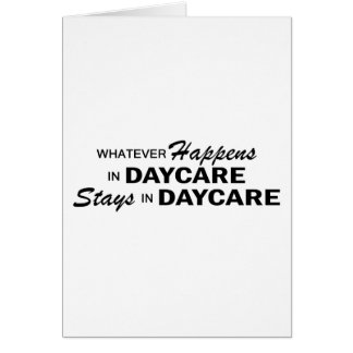 Whatever Happens - Daycare Card