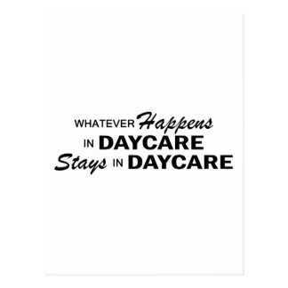 Whatever Happens - Daycare Postcard