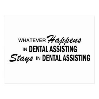 Whatever Happens - Dental Assisting Postcard