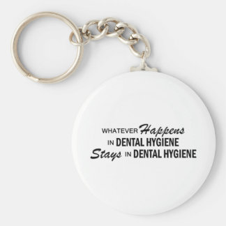 Whatever Happens - Dental Hygiene Keychain