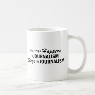 Whatever Happens - Journalism Coffee Mug