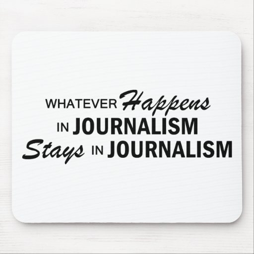 Whatever Happens - Journalism Mouse Pad