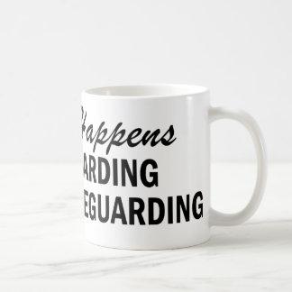 Whatever Happens - Lifeguarding Classic White Coffee Mug