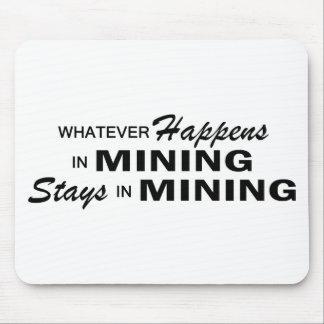 Whatever Happens - Mining Mouse Pad