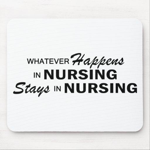 Whatever Happens - Nursing Mouse Pads