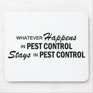 Whatever Happens - Pest Control Mouse Pad