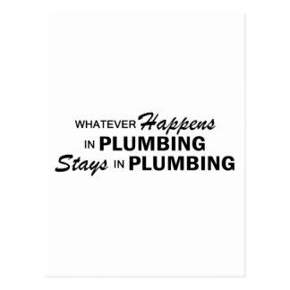Whatever Happens - Plumbing Postcards