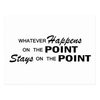 Whatever Happens - Point Postcard