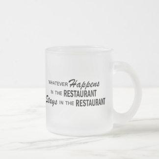 Whatever Happens - Restaurant Coffee Mug