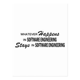 Whatever Happens - Software Engineering Postcard
