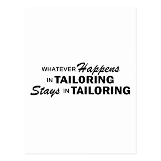 Whatever Happens - Tailoring Postcard