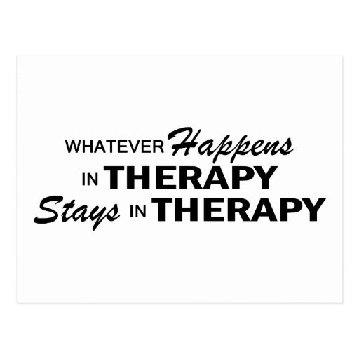 Whatever Happens - Therapy Post Cards