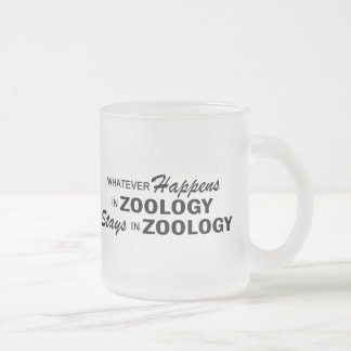Whatever Happens - Zoology Frosted Glass Coffee Mug