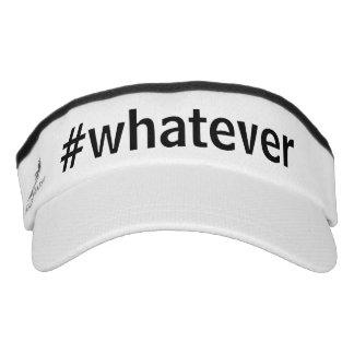 Whatever Hashtag Visor
