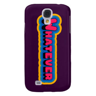 Whatever iPhone 3 Speck Case Galaxy S4 Cases