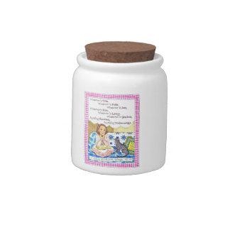 Whatever Is Prayer Jar Candy Jars