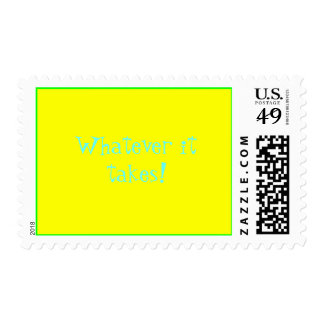 Whatever it takes! postage stamp