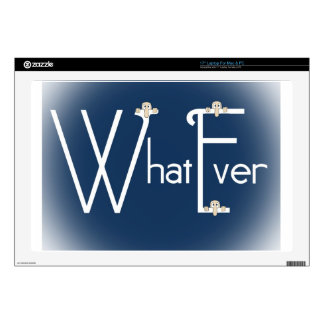 "Whatever-Kilroy 17"" Laptop Decals"