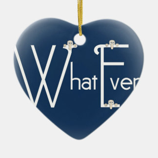 Whatever-Kilroy Ceramic Ornament