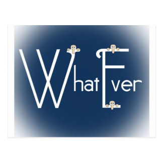 Whatever-Kilroy Postcard