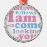 Whatever.ladies.pdf Ornament