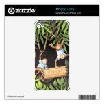 """Whatever"" Monkeys Skins For iPhone 4S"