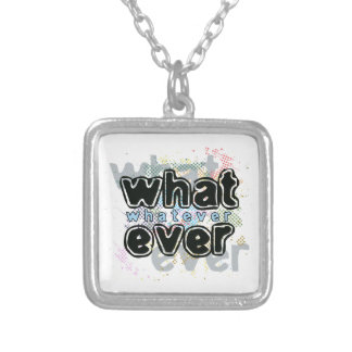 WHATEVER PERSONALIZED NECKLACE
