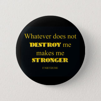 WHATEVER PINBACK BUTTON