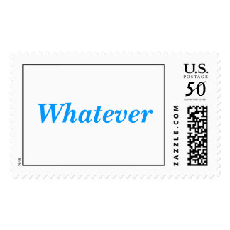 Whatever Postage