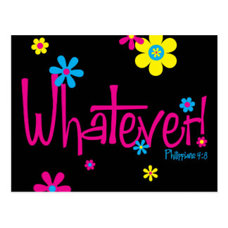 Whatever! Postcard