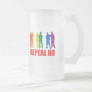 WHATEVER: REPEAL H8 16 OZ FROSTED GLASS BEER MUG