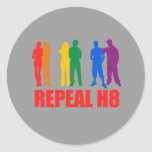 WHATEVER: REPEAL H8 ROUND STICKER