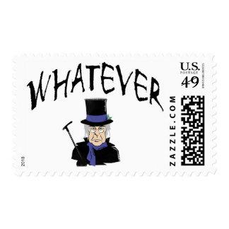 Whatever Scrooge Postage Stamp