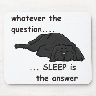 whatever the question... mouse pad