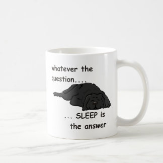 whatever the question... classic white coffee mug