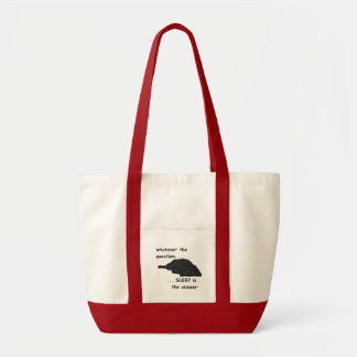 whatever the question... tote bags