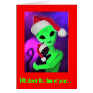 Whatever the Time of Year card