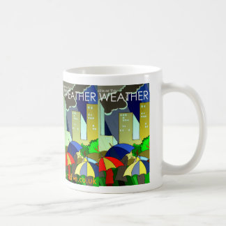 Whatever the weather art deco mug