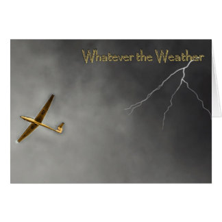 Whatever the weather card