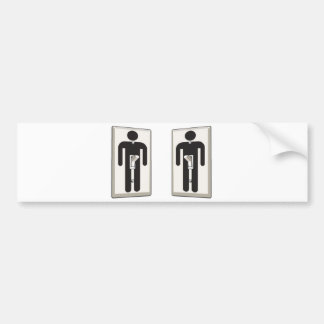 Whatever Turns You On Gay Male Light Switch Bumper Sticker