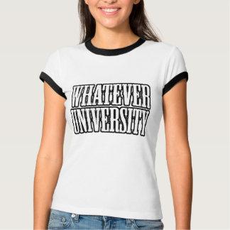Whatever University Alumni Ladies T-Shirt