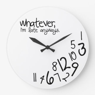 whatever wall clocks