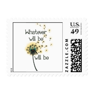 Whatever Will Be Stamp