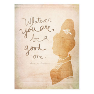 Whatever  You Are Postcard