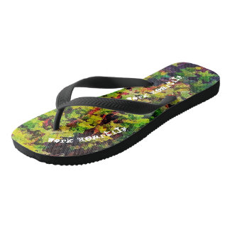 Whatever You Do Work Heartily Colossians 3 23 Flip Flops