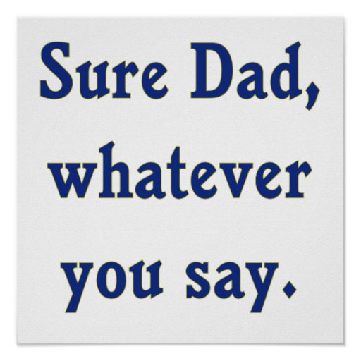 how to say dad& 39