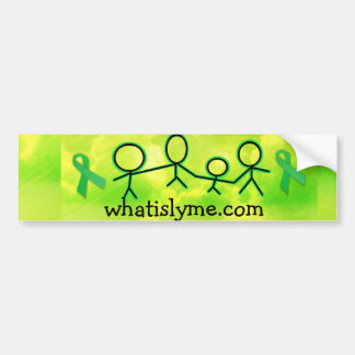 whatislyme.com bumper sticker car bumper sticker