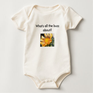 What's all the buzz about? baby bodysuit