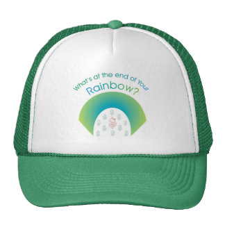 What's at the end of YOUR rainbow? Trucker Hat